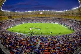 A Arena da Amazia, foi inaugurada com jgos da ultima Copa do MUndo